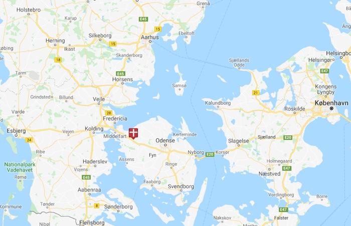 Fjelsted Skov nær Odense
